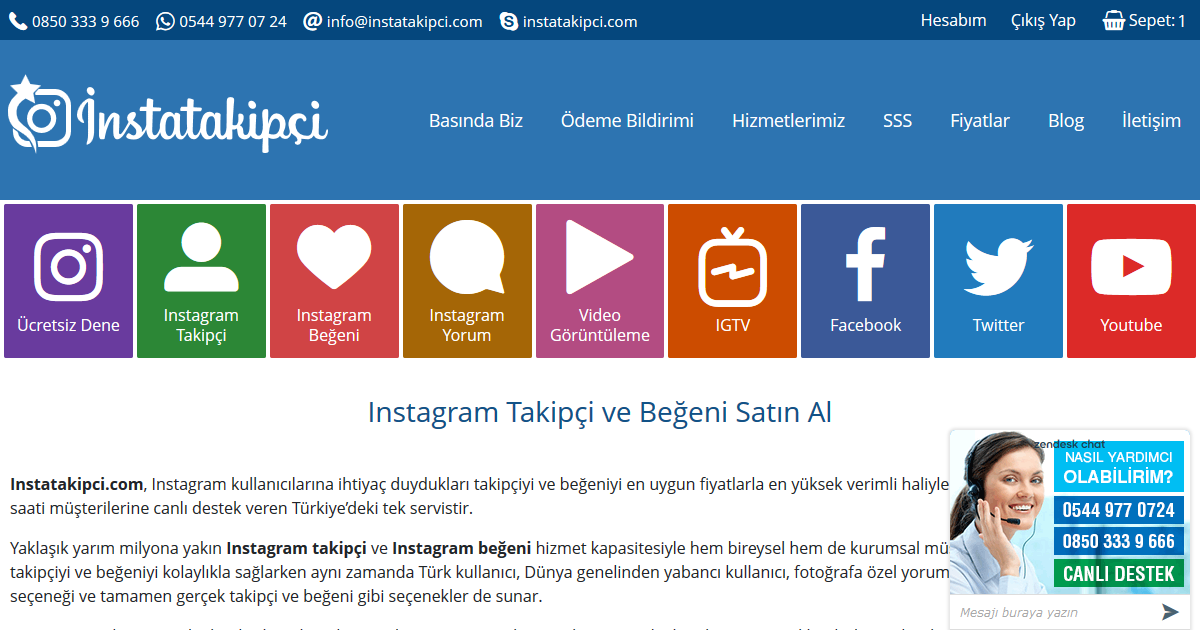 Instagram Takipçi Satın Al - instatakipci.com