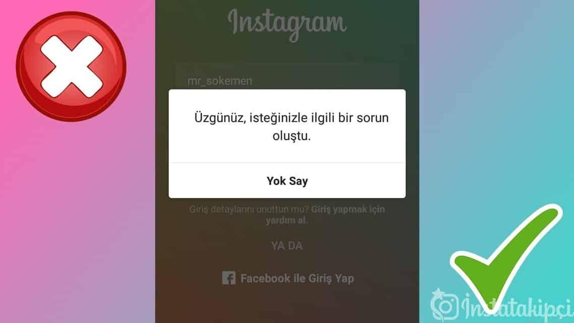 instagram sorun bildirisi