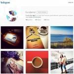 Instagram tasarım