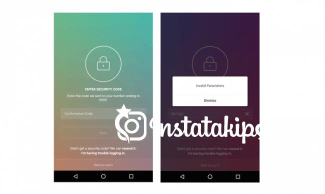 Instagram İki Aşamalı Şifre kullanımı