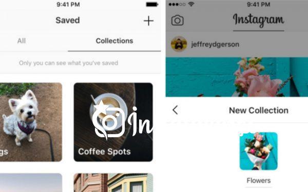 Instagram koleksiyonlar özelliği