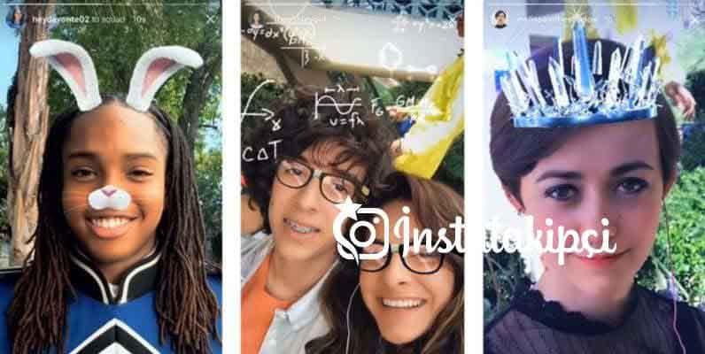 instagram selfie filtresi