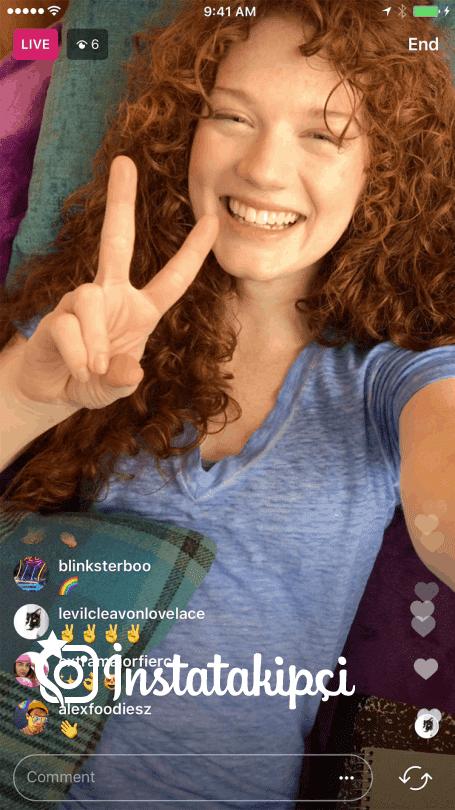 Instagram hikayelerden canlı yayın paylaşımı