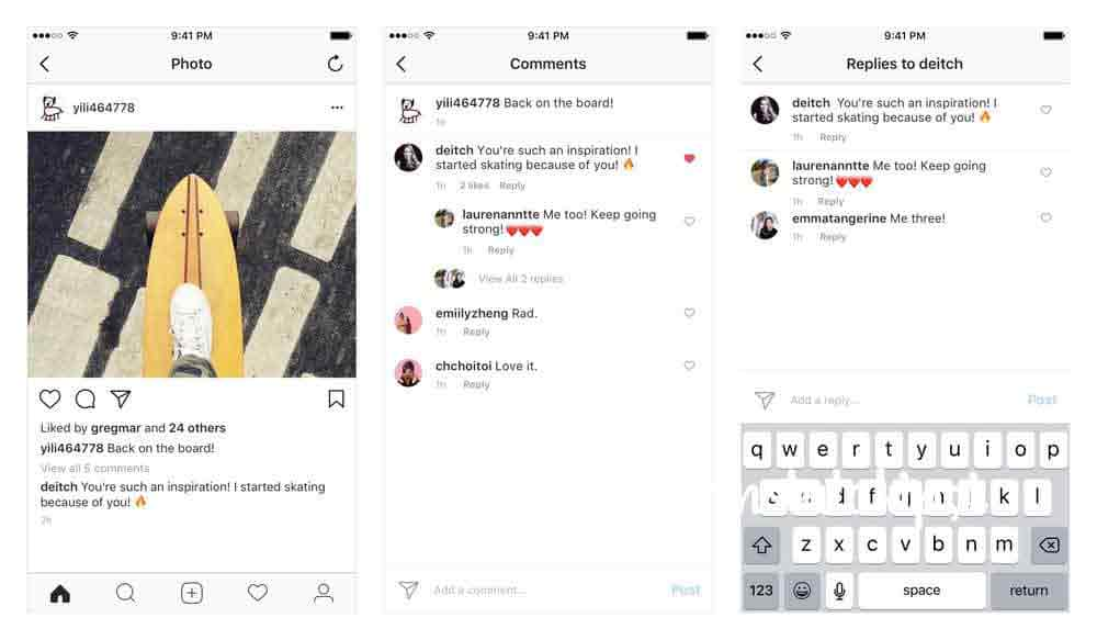 Instagram Yorum