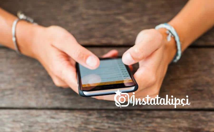 Instagram Seni Takip Ediyor