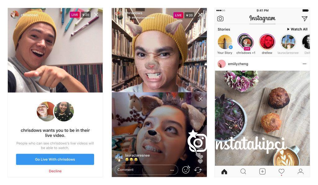Instagram Çoklu Canlı Yayın