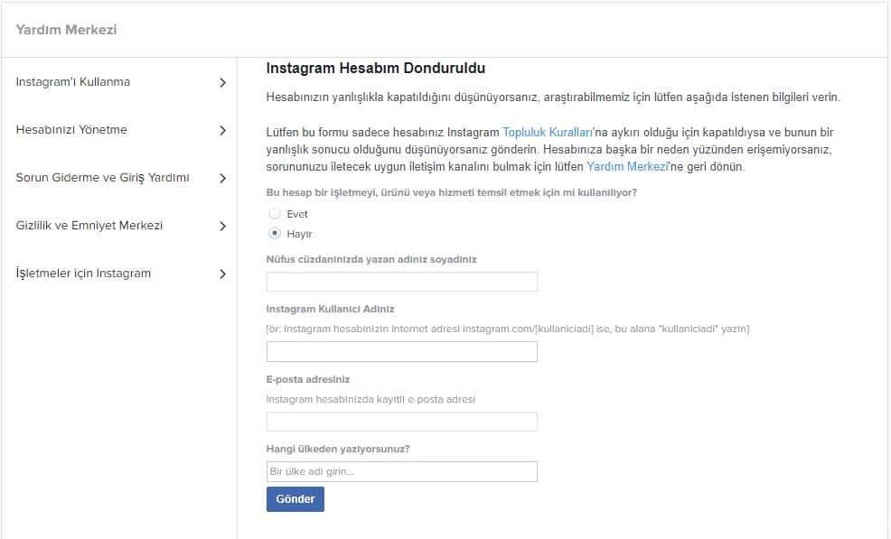 instagram-telefon-numaram-değişti