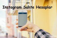 Instagram Sahte Hesaplar