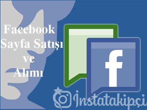 Facebook Sayfa Satışı ve Alımı