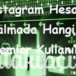 Instagram Hesap Çalmada Hangi Yöntemler Kullanılıyor?