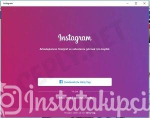 instagram bilgisayardan mesaj gonderme