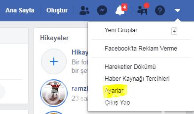 facebook silinen mesajları geri getirmek
