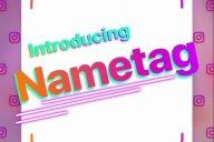 Instagram Nametag İsim Etiketi