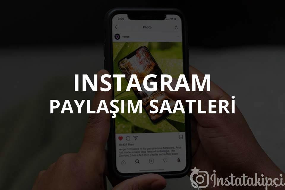 Instagram Paylaşım Saatleri