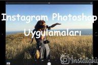 Instagram Photoshop Uygulamaları