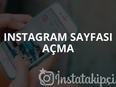Instagram Sayfası Nasıl Açılır?