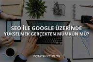 Google Sıralama Yükseltme