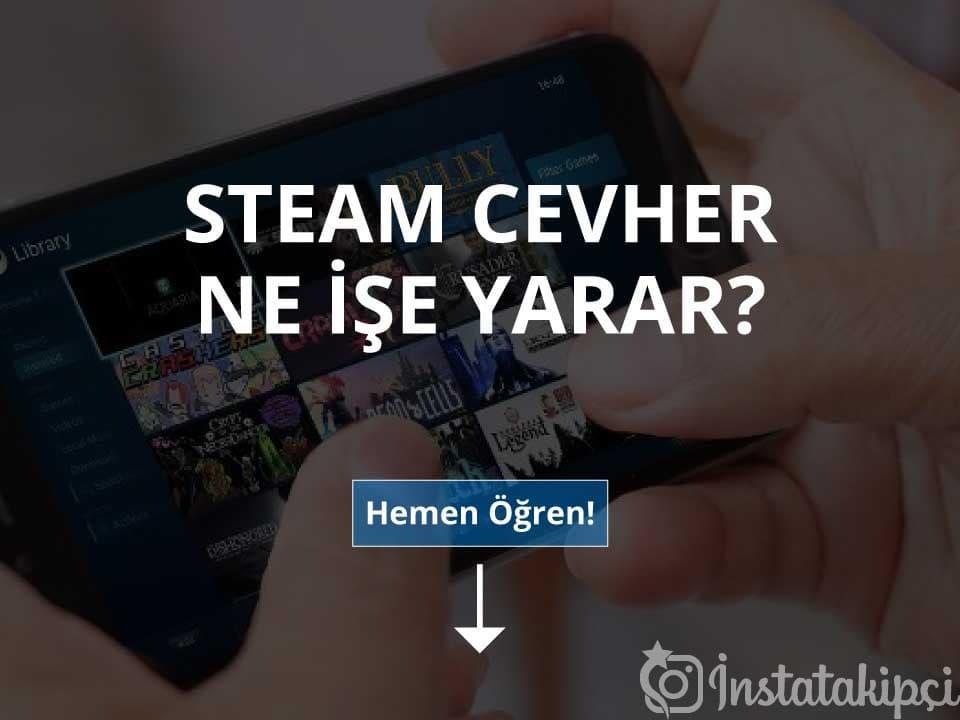 Steam Cevher Ne İşe Yarar?