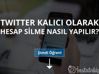 Twitter Kalıcı Olarak Hesap Silme Nasıl Yapılır?