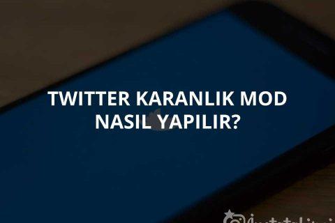 Twitter Karanlık Mod Nasıl Yapılır?