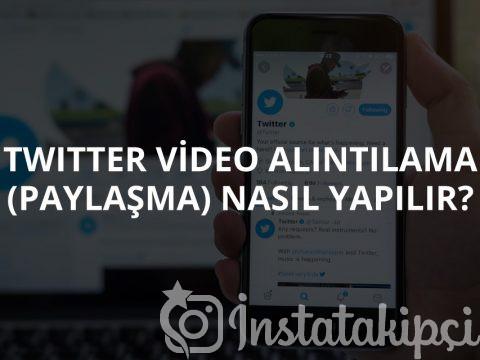 Twitter Video Alıntılama (Paylaşma) Nasıl Yapılır?