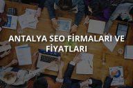 Antalya SEO Firmaları