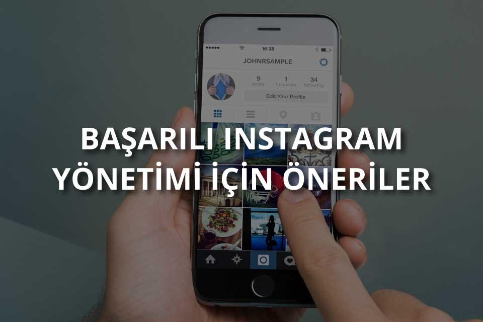 Instagram Hesap Yönetimi