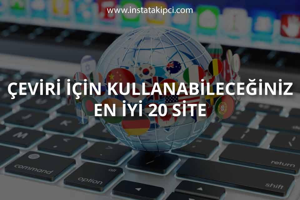 En İyi 20 Çeviri Sitesi