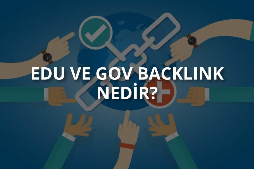 Edu Gov Backlink