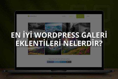 WordPress Galeri Eklentileri Nelerdir?