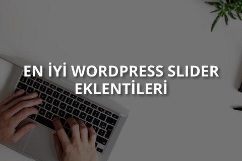 WordPress Slider Eklentileri