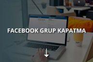 Facebook Grubu Nasıl Silinir?