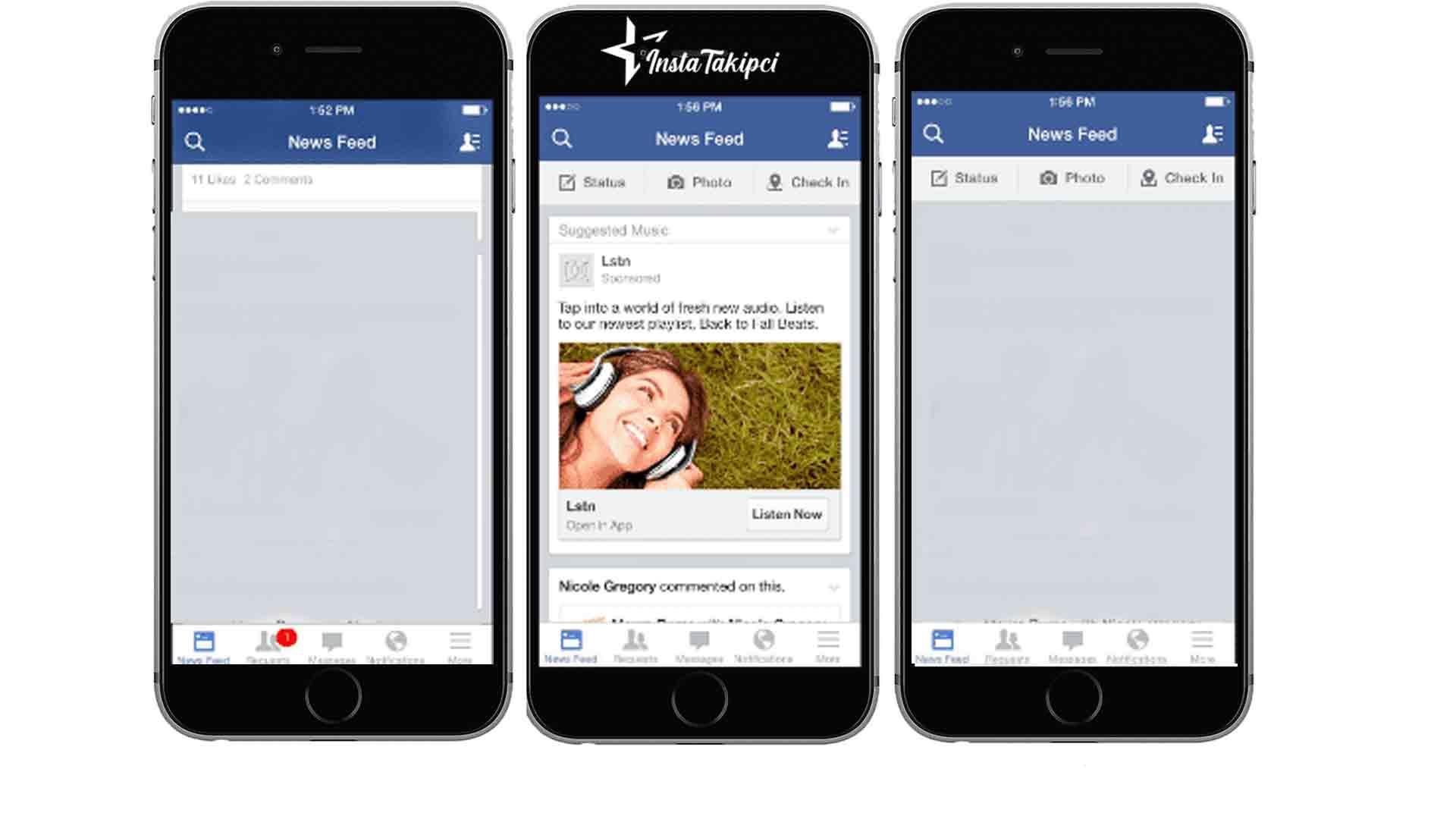 facebook haber bandı açma