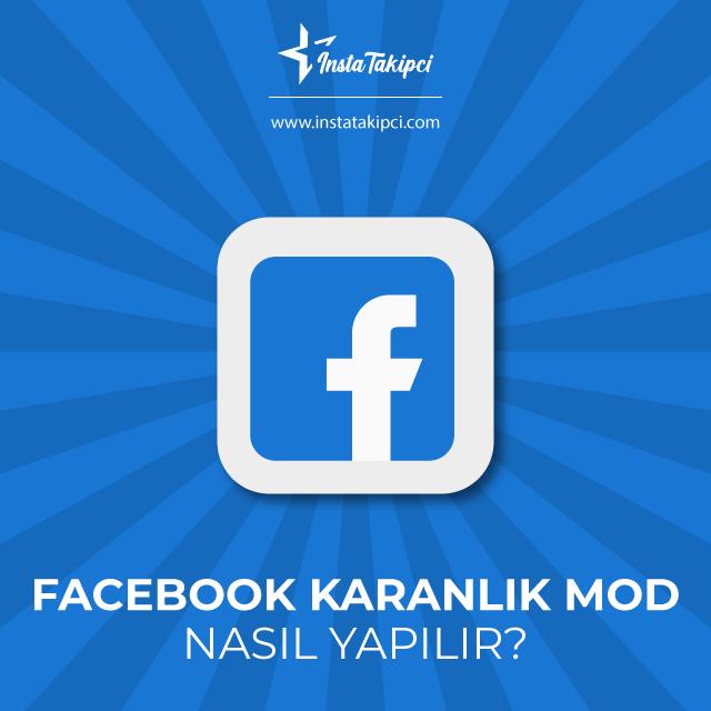 facebook karanlık mod
