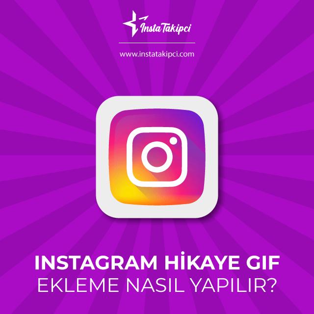 instagram gif ekleme