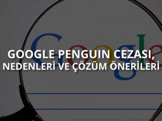 Google Penguin Cezası Nedir?