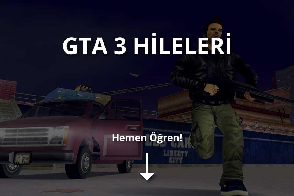 GTA 3 Hileleri