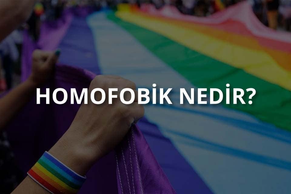 Homofobik Nedir?