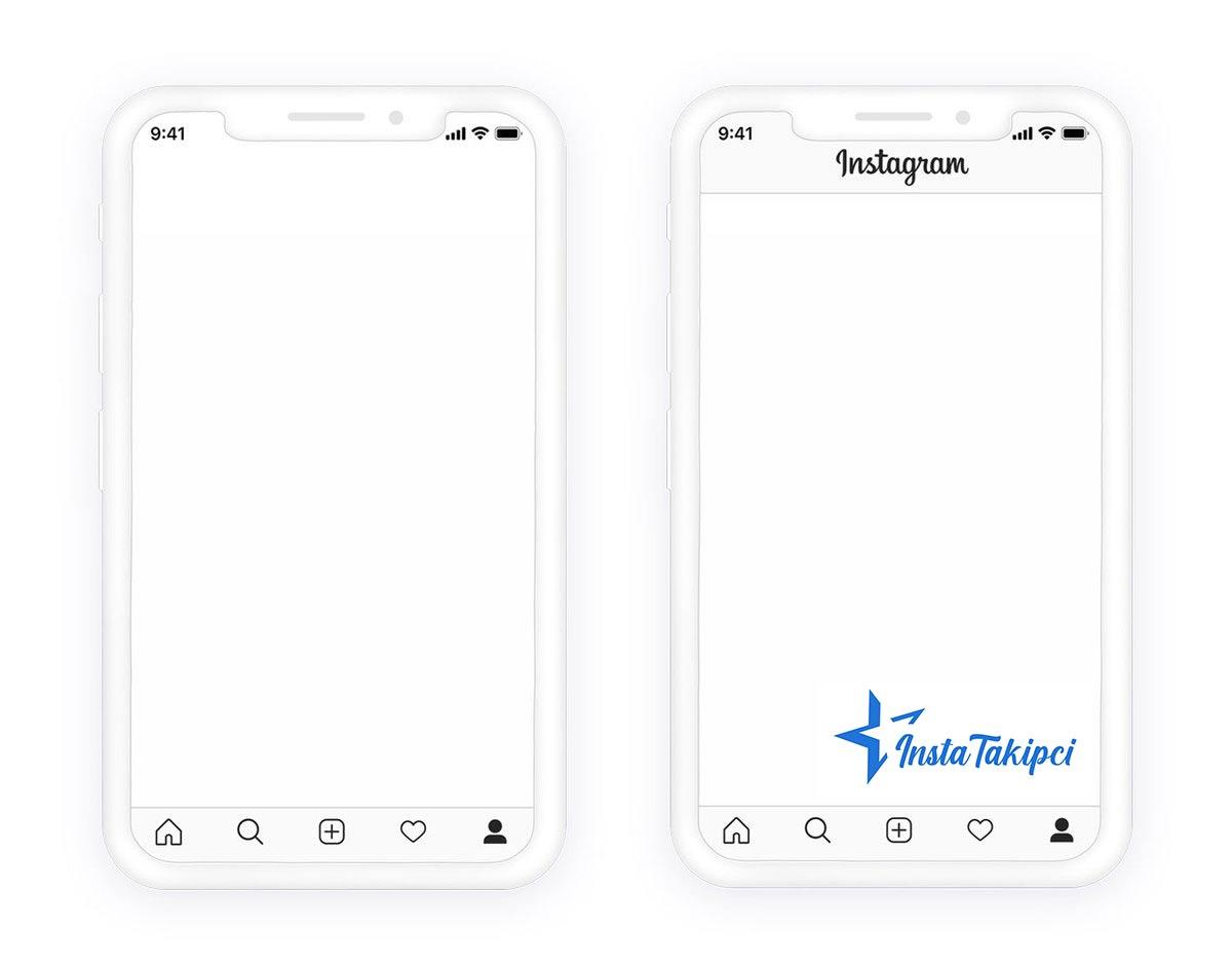instagram beyaz ekran çözümü