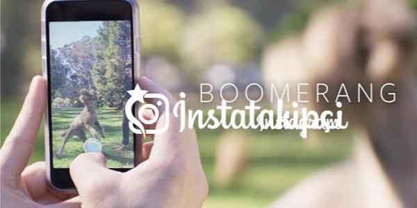Instagram Boomerang Özelliği
