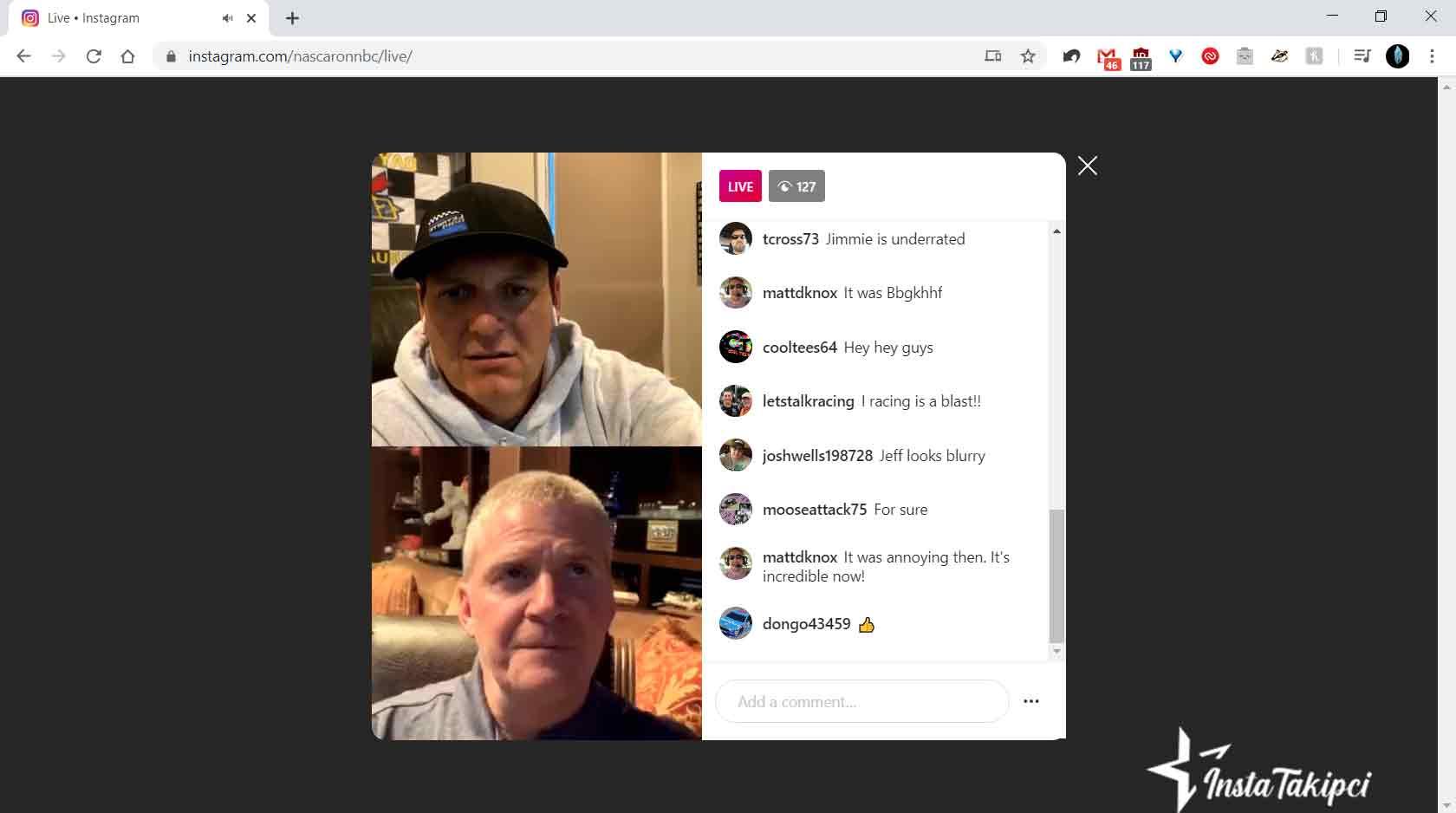 instagram canli yayin izleme bilgisayardan