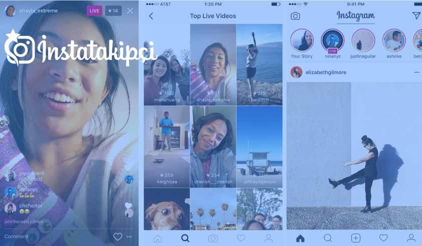 instagram canlı yayın izleme