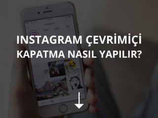 Instagram Çevrimiçi Kapatma