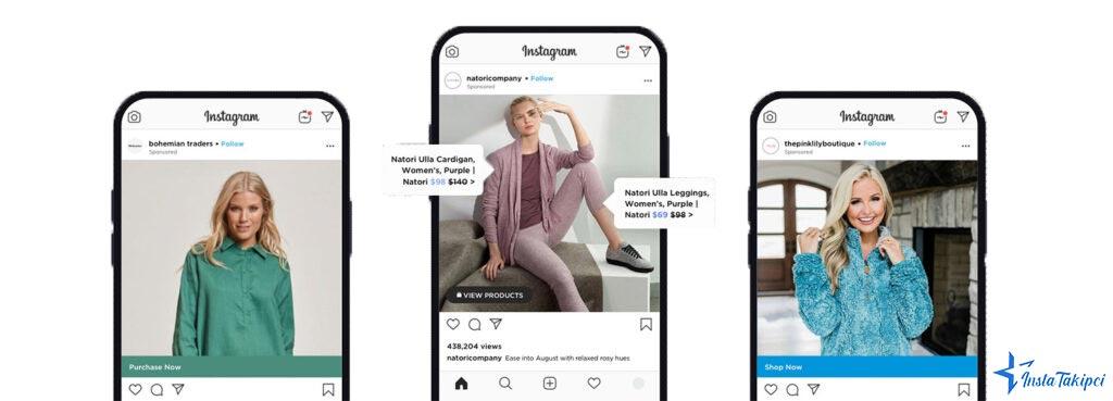 instagram reklam modelleri