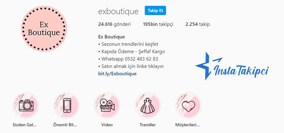 en sevilen instagram butikleri ex boutique
