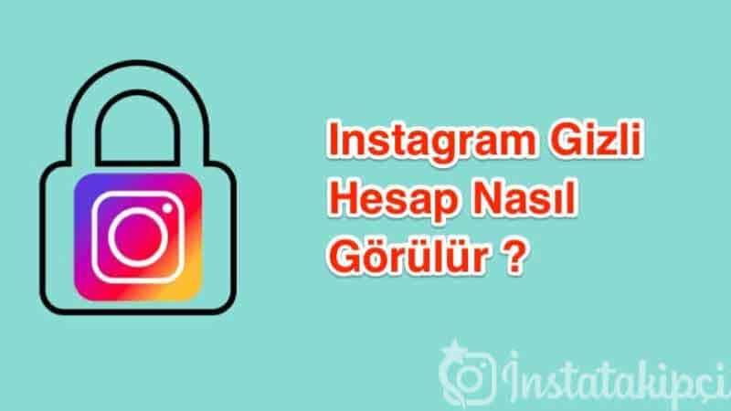 instagram gizli kapali hesabin icerisini gormek 2019 çözüldü