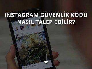 Instagram Güvenlik Kodu