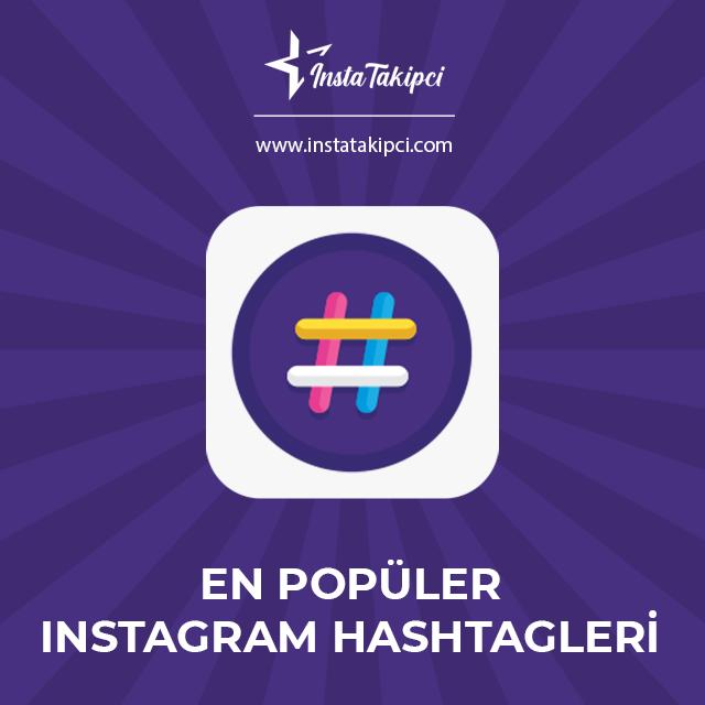 instagram popüler hashtag