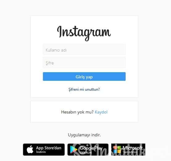 Instagram Hesap Açma