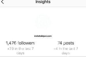 instagram istatistik özelliği